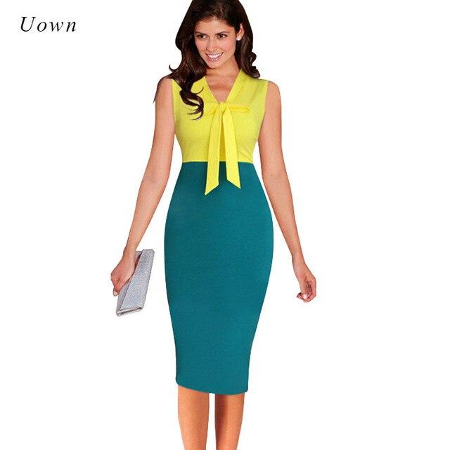 Elegant business kleider damen