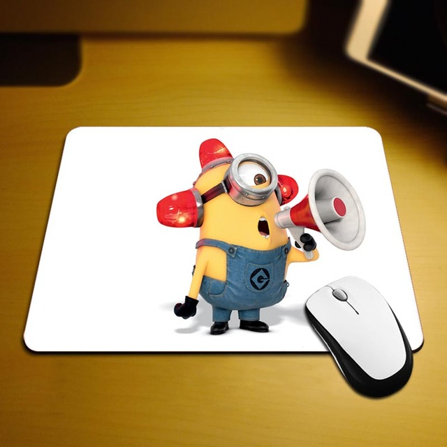 Minions BestSelling Mouse Pads 18*22cm and 25*29cm