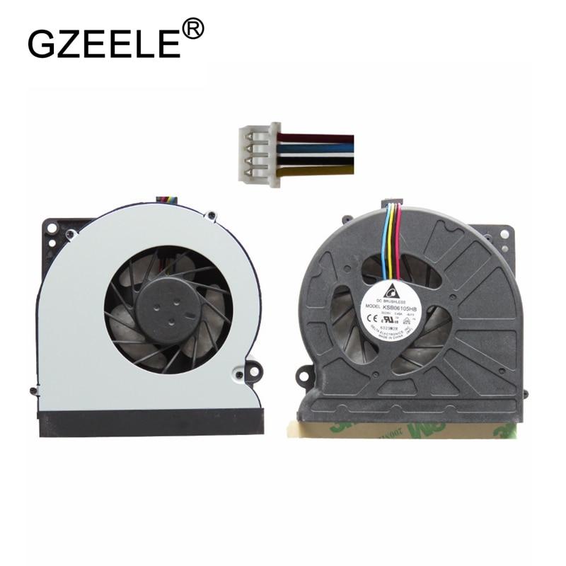 GZEELE New Laptop Cpu Cooling Fan For ASUS N61 N61V N61JV N61JQ N61VG CPU Cooling FAN KSB06105HB