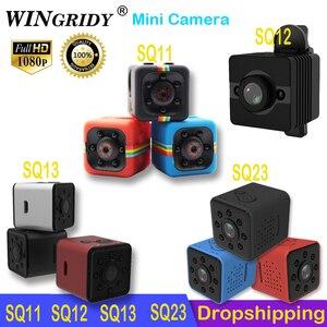 Image 2 - Original Mini Camera SQ11 SQ23 SQ13 SQ12 FULL HD 1080P Night Vision WIFI Camera Waterproof shell CMOS Sensor Recorder Camcorder