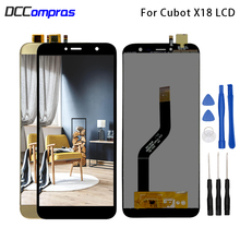 цена на 5.7 Inch For Cubot X18 LCD Display Touch Screen Digitizer Replacement Phone Parts For Cubot X18 Display Screen LCD Free Tools