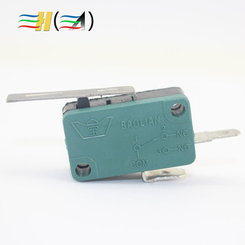 Genuine green Two feet With film Iron sheets Micro Switch Game Machine Micro Switch