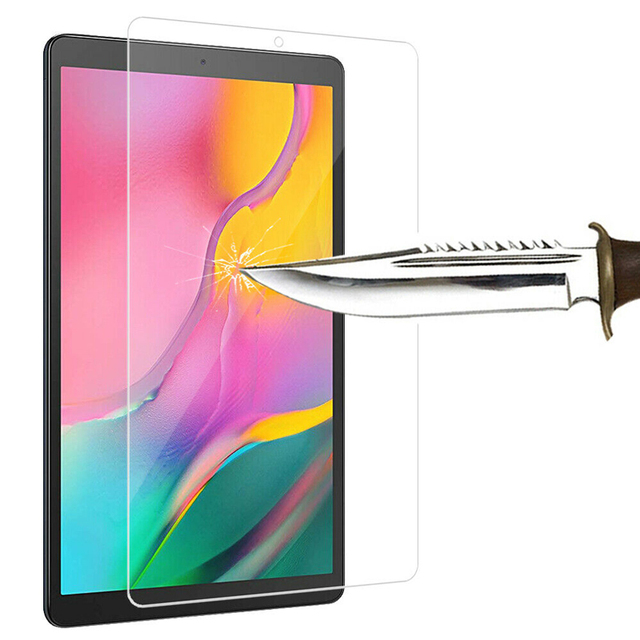 Tempered Glass Screen Protector for Samsung Galaxy Tab A 10.1 2019 T510 T515 SM-T510 SM-T515 Scratch Proof Protective Glass Film 2