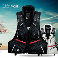 2016 NEW Oversized Buoyancy Windproof Fly Fishing Vest Life Clothing Vest Detachable Breathable Lifejacket Aid Sailing
