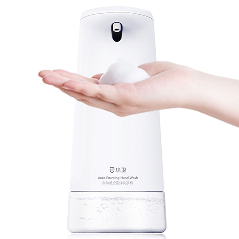 Intelligent Auto Foam Soap Dispenser Induction Foaming Hand Washing Machine Portable Liquid Soap Dispenser Bathroom Kitchen Tool kitpag47436wns101 value kit procter amp gamble professional foam hand soap dispenser pag47436 and windsoft 101 bleached white embossed c fold paper towels wns101