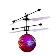 RC Flying Ball Drone With Inbuilt Shinning LED Lighting for Kids