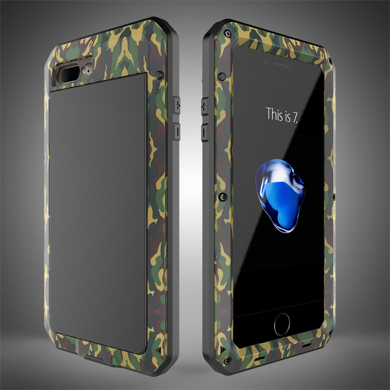 HTB1fEeXeMmTBuNjy1Xbq6yMrVXaN Heavy Duty Protection Doom armor Metal Aluminum phone Case for iPhone 11 Pro Max XR XS MAX 6 6S 7 8 Plus X 5S 5 Shockproof Cover