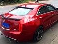 Apto para Cadillac ATS ATSATS-L modificado fibra de carbono asa traseira spoiler traseiro asa