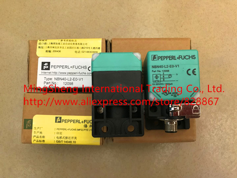 все цены на Original new 100% Germany proximity switch NBN40-L2-E0-V1 1 years warranty онлайн
