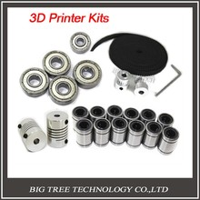 3d принтер reprap prusa i3 движение комплект gt2 шкив 608zz подшипник lm8uu 624zz подшипник