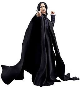US $32 99 |Classic Magic Movie Harry Potter Deathly Hallows Hogwarts School  Teacher Severus Snape 7 inch NECA Action Figure -in Action & Toy Figures