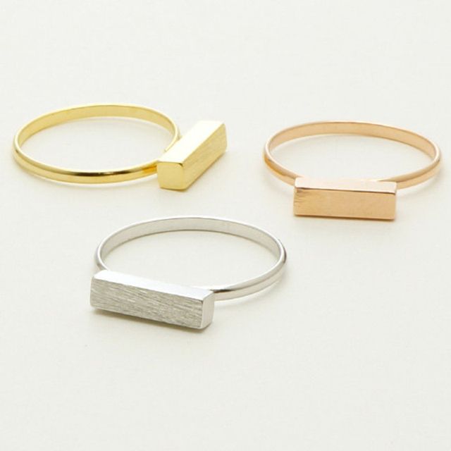 brixini.com - Long Stainless Steel Bar Rings