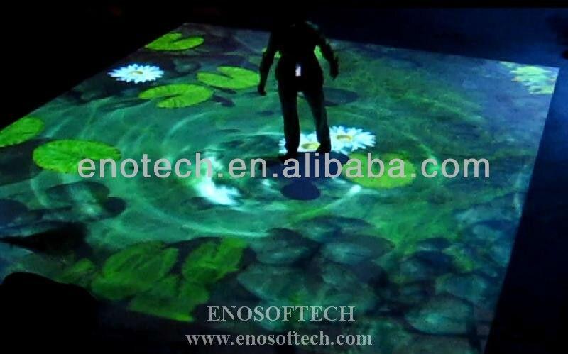 online shop best price interactive floor projection system
