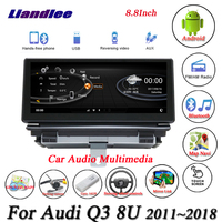 Liandlee For Audi Q3 8U RS Android Original Car System Radio BT Wifi FM GPS Map Navi Navigation Screen Multimedia NO DVD Player