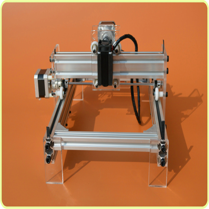 DIY laser machine laser engraving machine cutting plotter 100mw mini carving engraving area 17 * 20cm laser head owx8060 owy8075 onp8170