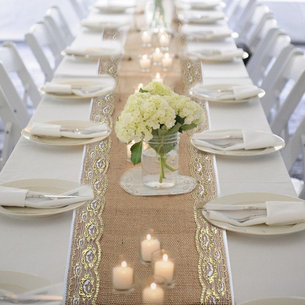 online get cheap gold lace table runner. Black Bedroom Furniture Sets. Home Design Ideas