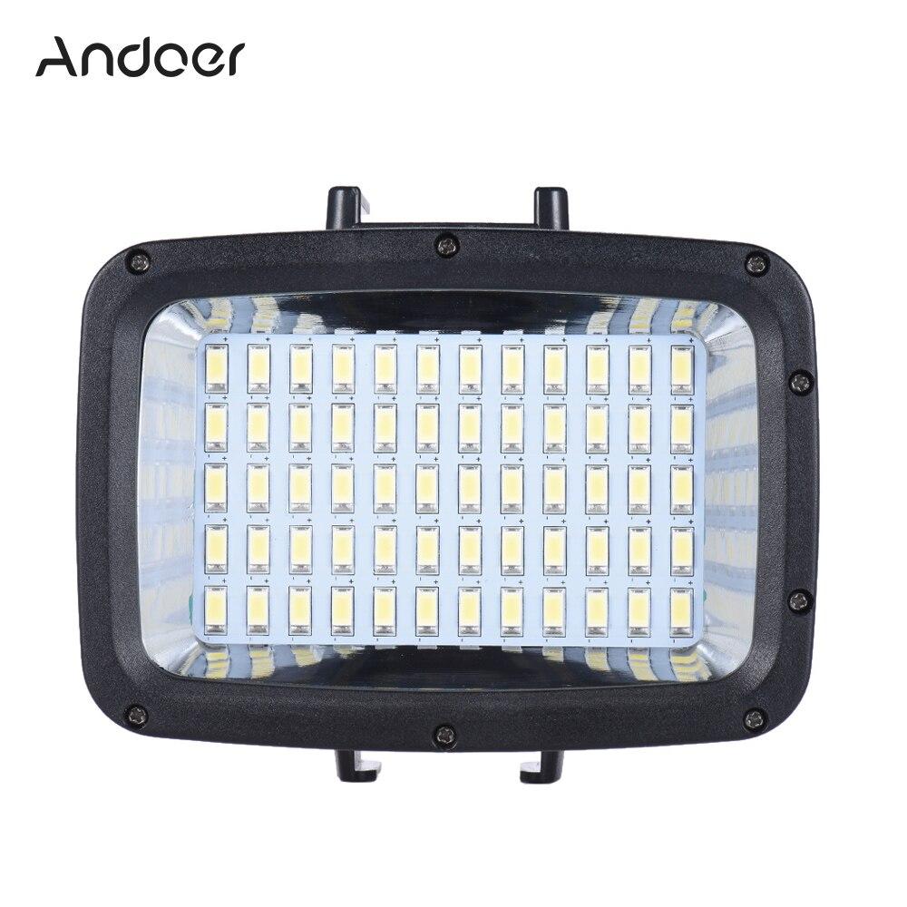 Andoer อุปกรณ์เสริมแฟลช LED ดำน้ำเติมแสง Video Studio โคมไฟโคมไฟสำหรับ Canon Nikon Sony DSLR กล้อง-ใน ไฟถ่ายภาพ จาก อุปกรณ์อิเล็กทรอนิกส์ บน AliExpress - 11.11_สิบเอ็ด สิบเอ็ดวันคนโสด 1