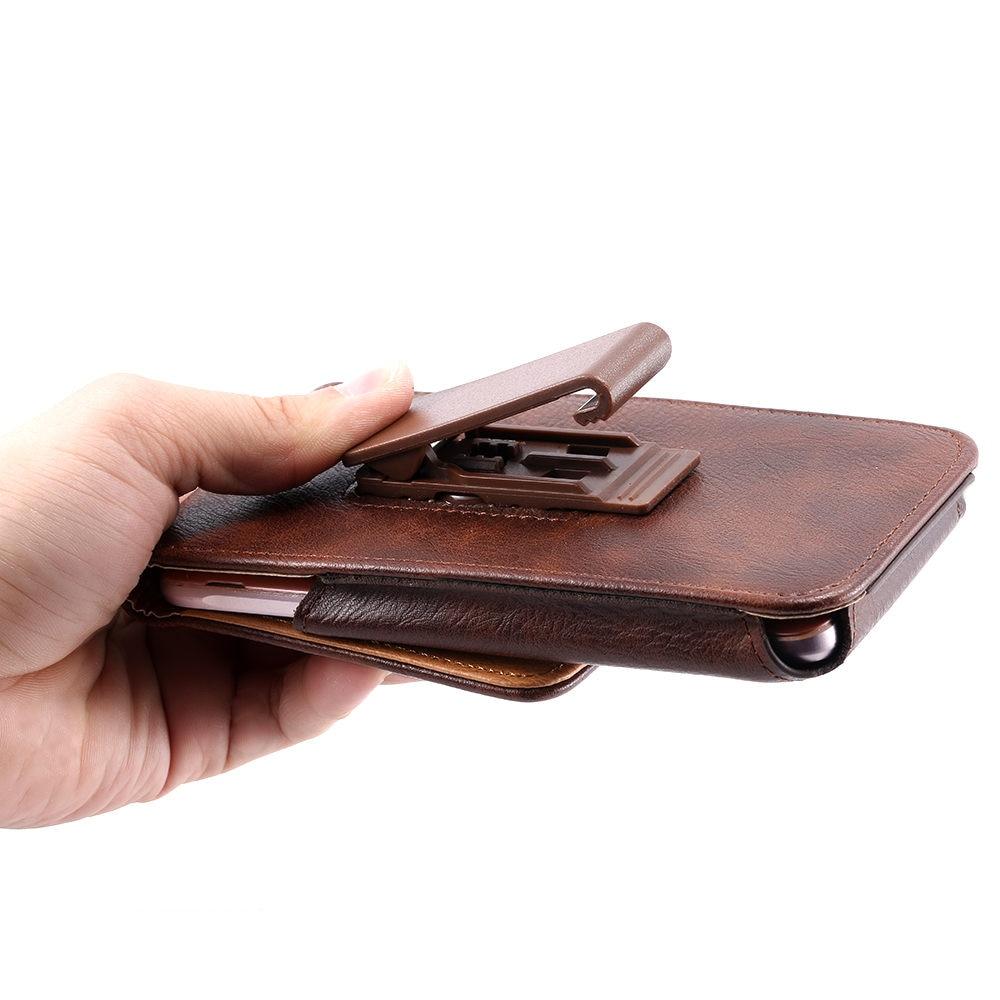 FLOVEME Lyxig väska för midjeväskor i läderbälte för iPhone 6 - Reservdelar och tillbehör för mobiltelefoner - Foto 3