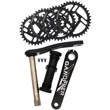 שומן אופני שלג אופני 175 כננת סט 100/120mm BB 1x מערכת GXP Crankset Chainwheel chainset 30T 32T 34T 36T Chainring עבור SRAM XX1