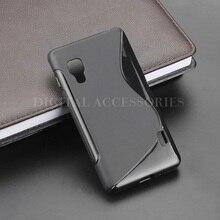 2 Color S Line Gel TPU Slim Soft Anti Skiding Case Back Cover For LG Optimus L5 II 2 E450 E455 E460 Mobile Phone silicone Bag