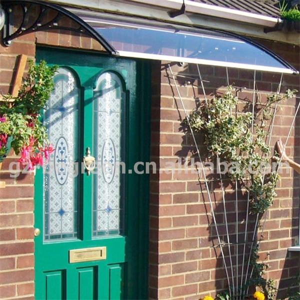 YP 80120 80x120 cm 31.5x47ineasy instalar toldos dossel porta de policarbonato, policarbonato porta