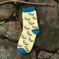 MS de nuevo fondo de 2016 inviernos del otoño calcetines calcetines en Japonés plátano fruta
