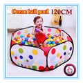120CM KID PORTABLE FOLDING OUTDOOR & INDOOR PLAY GAME HOUSE CHILDREN POP UP TENT BALL PIT TOYS BALLS FOR POOL CHILDREN'S PLAYPEN