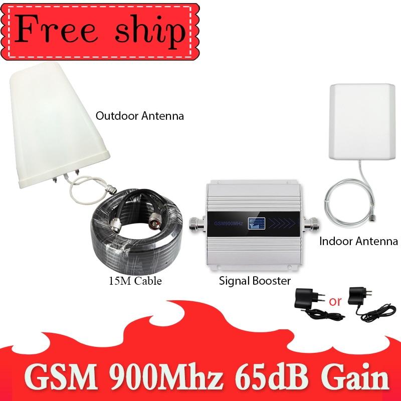 Gsm Répéteur 900 MHz signal de Téléphone Cellulaire Répéteur GSM 900 MHZ 2G Mobile Signal Booster GSM 900 mhz celular amplificateur