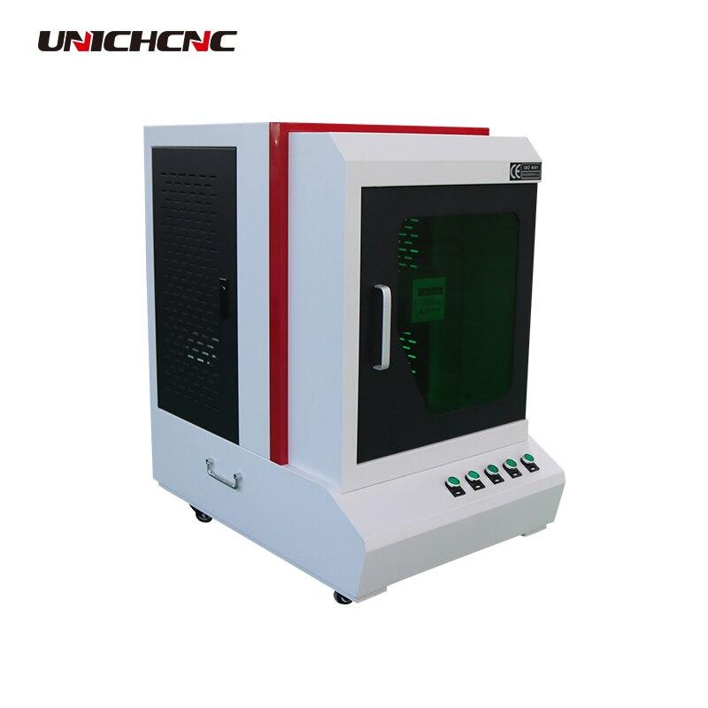 Machine de marquage laser d'étiquette d'oreille animale de refroidissement par Air