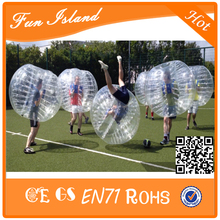 Free Shipping Bumper Ball Giant Human Body Soccer Inflatable Bubble Ball Suit For Football For Sale