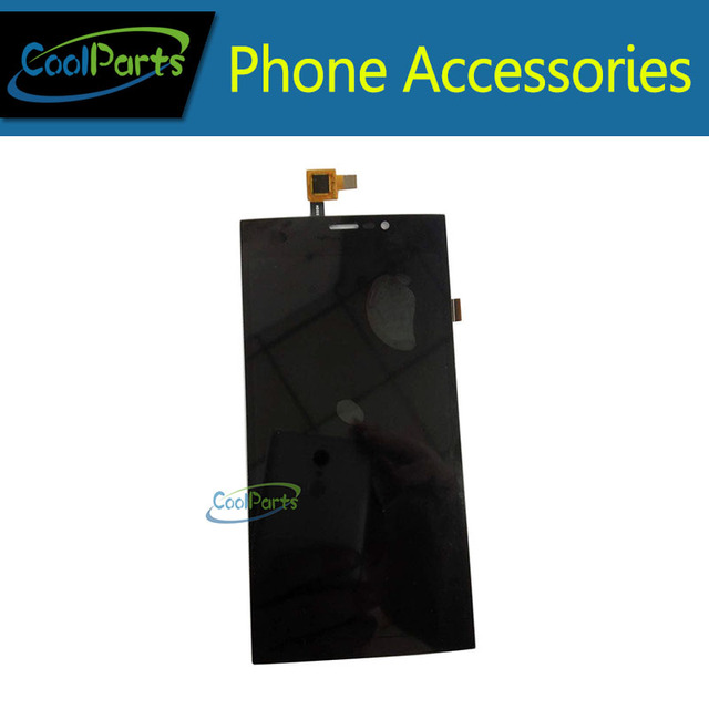 High Quality 1PC/Lot Black Color LCD Display and Touch Screen Digitizer For Wiko Wiko Ridge Fab 4G Free Shipping