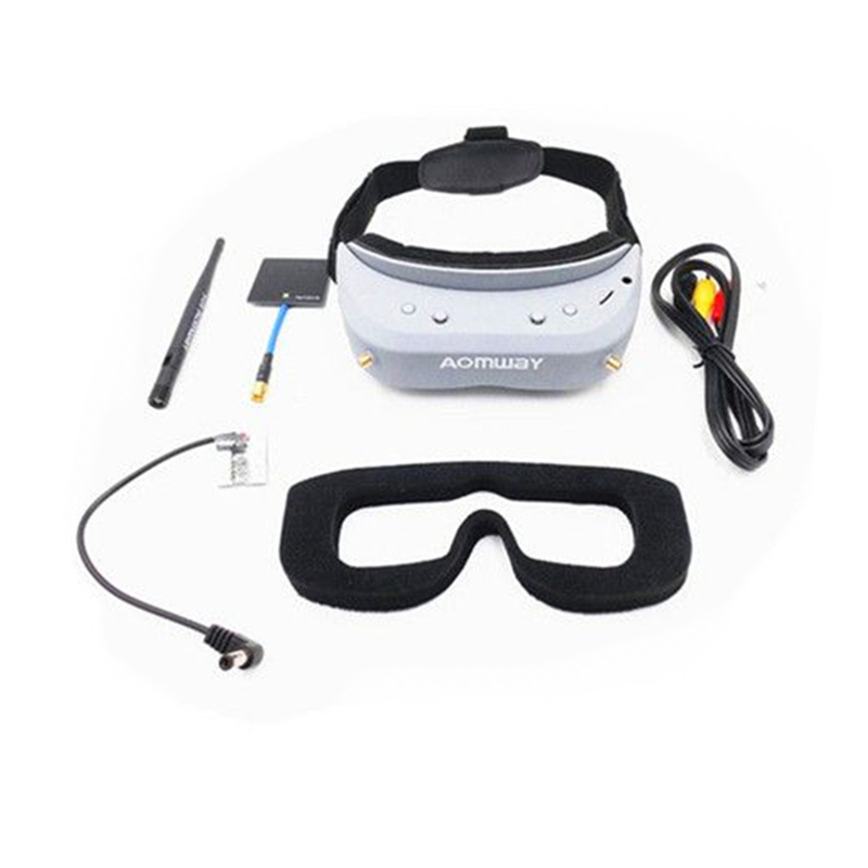 Aomway Commander Goggles V1 2D 3D 40CH 5.8G FPV Video Headset Support iron commander экскаватор металл 234 дет 816b 136 г44213