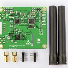 Дуплекс MMDVM Hotspot Поддержка P25 DMR YSF для Raspberry Pi+ 2 шт. антенны