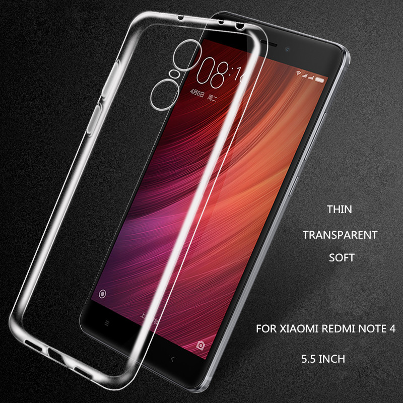 for xiaomi redmi note 4 case silicone luxury cover redmi