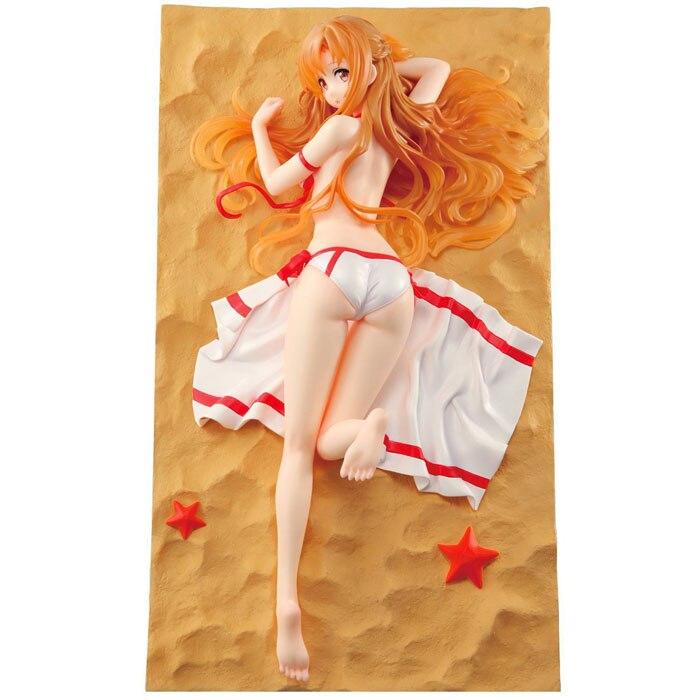 где купить  Anime Sword Art Online Asuna 1/6 Scale Sexy Girl Pre-Painted Figure Collectible Model Toy 26cm KT237  по лучшей цене
