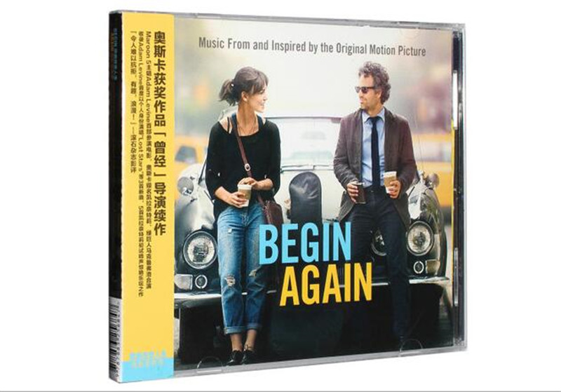 Free shipping: movie soundtrack Begin Again collection CD sealed ...