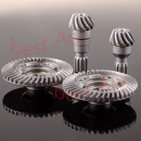 1/5 RC Car Front / Rear Hard Steel Differential Ring/Pinion Gear Set Traxxas X Maxx