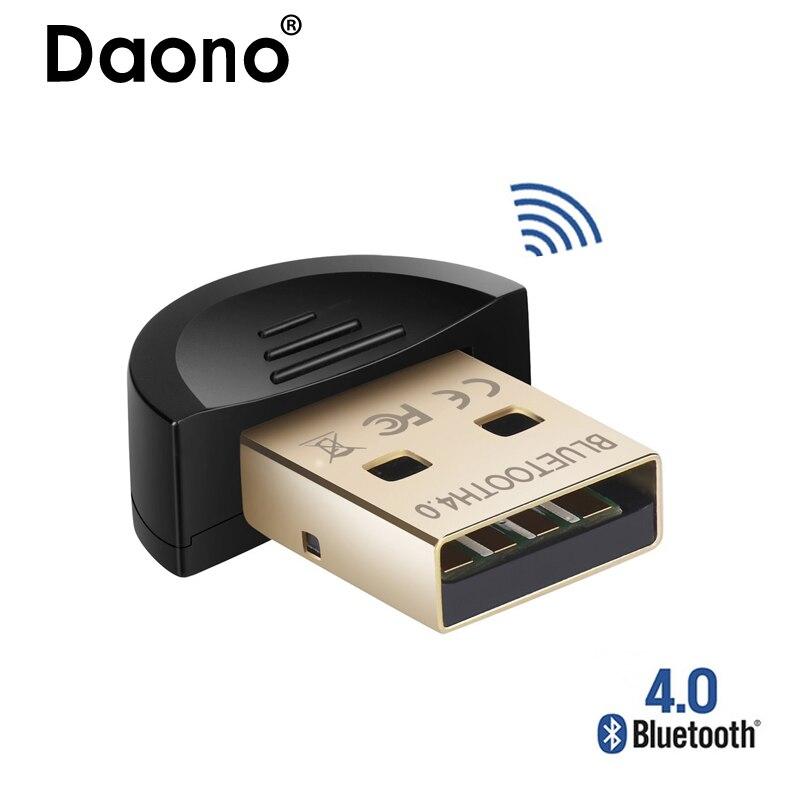 Funkadapter Daono Mini Usb Bluetooth V 4,0 Dual Mode Bluetooth Csr 4,0 Usb 2.0/3,0 Para Windows 10 8 Xp Win 7 Vista 32/64 Neue Sorten Werden Nacheinander Vorgestellt