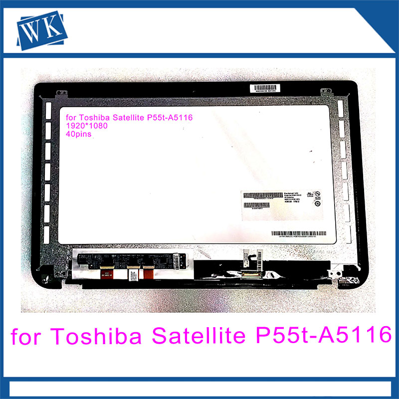Free Shipping for Toshiba Satellite P55t-A5116 S50T-A S55T-A 15.6 Touch Screen Display assemblyFree Shipping for Toshiba Satellite P55t-A5116 S50T-A S55T-A 15.6 Touch Screen Display assembly