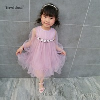 Kids Clothes Baby Girl Dress Fille Flower Girl Dresses Summer Roupas Infantis Princess Dress Girl Kids