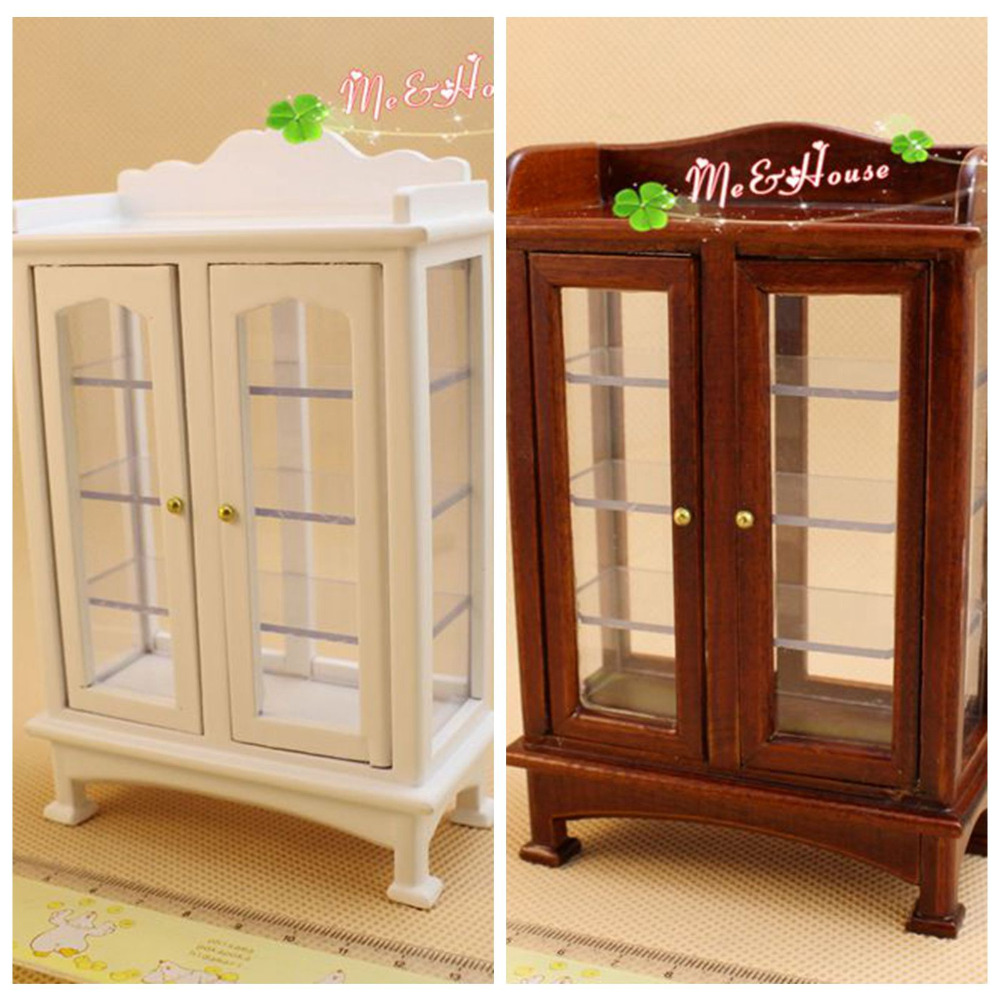 112 Dollhouse Miniatures Living Room Furniture China Cabinet Hobbies Toys Kitchen Dining