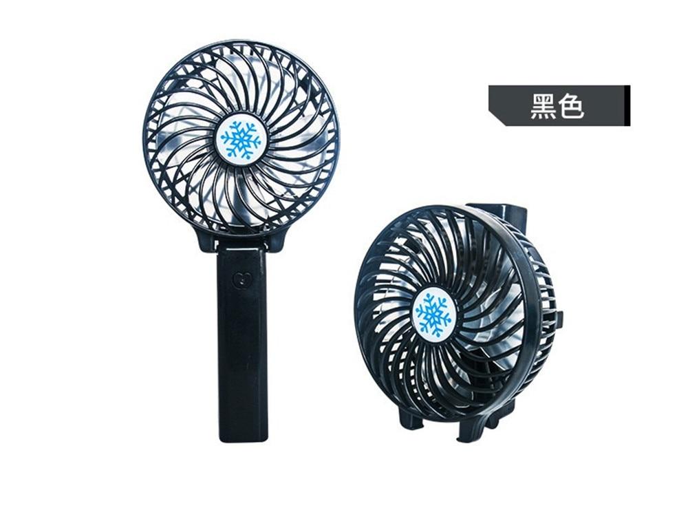 Ultra-quiet Mini USB Desk Fan Office Mini Fan Silent Desktop Fan With Double Side Fan Blades Creative Home