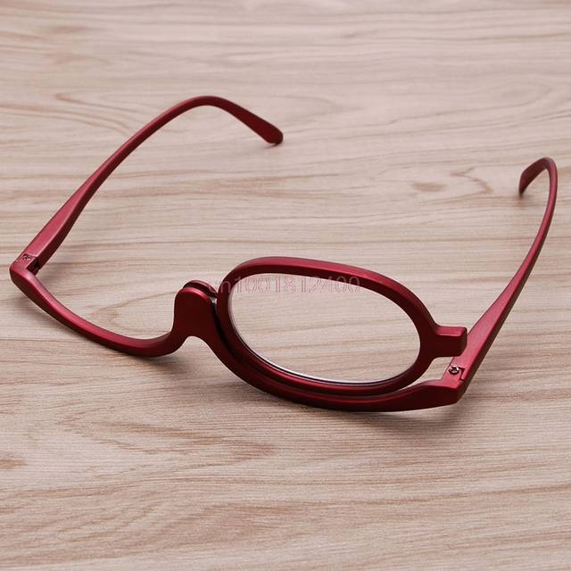 145894313d7 Magnifying Glasses Makeup Reading Glass Folding Eyeglasses Cosmetic General