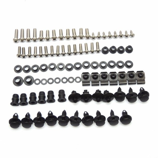 Motorcycle Fairing Bolt Screw Nuts Washers Fastener Fixation for SUZUKI GSX-R1000 GSXR 1000 2005 2006 Full Kit FREE SHIPPING