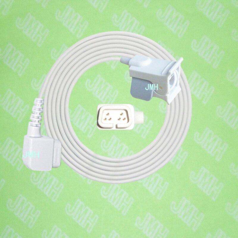 Compatible with CSI 503/504 Patient monitor , Pediatric finger clip spo2 sensor,6pin.Compatible with CSI 503/504 Patient monitor , Pediatric finger clip spo2 sensor,6pin.
