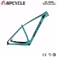 Spcycle MTB Mountain Bicycle Carbon Frames,27.5er 29er 650B MTB Bike Carbon Frames,Compatible 142*12mm or 135*9mm PF30