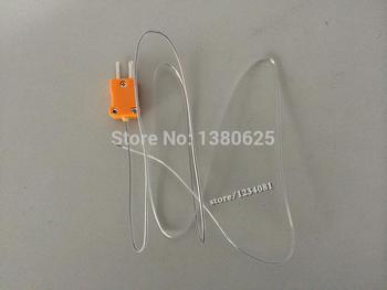 цена на 100cm Length New Wire Teflon Line K - Type Thermocouple Sensor Temperature Probe