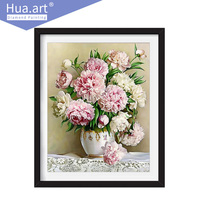 Hua Art 2017new 5D DIY Diamond Painting Cross Stitch Flower Crystal Acupuncture Full Diamond Embroidery Home