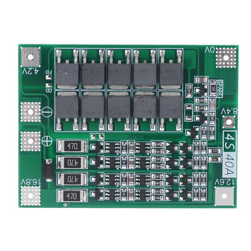 Balance 4S 40A Li-ion Lithium Battery 18650 Charger PCB BMS Protection Board Balanced Charge For Drill Motor 14.8V 16.8V Lipo Ce