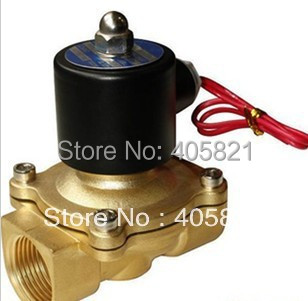 AC220V 1 Two Way 2 Position Solenoid Valve 2W-250-25